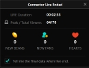 Stats After Ending Stream