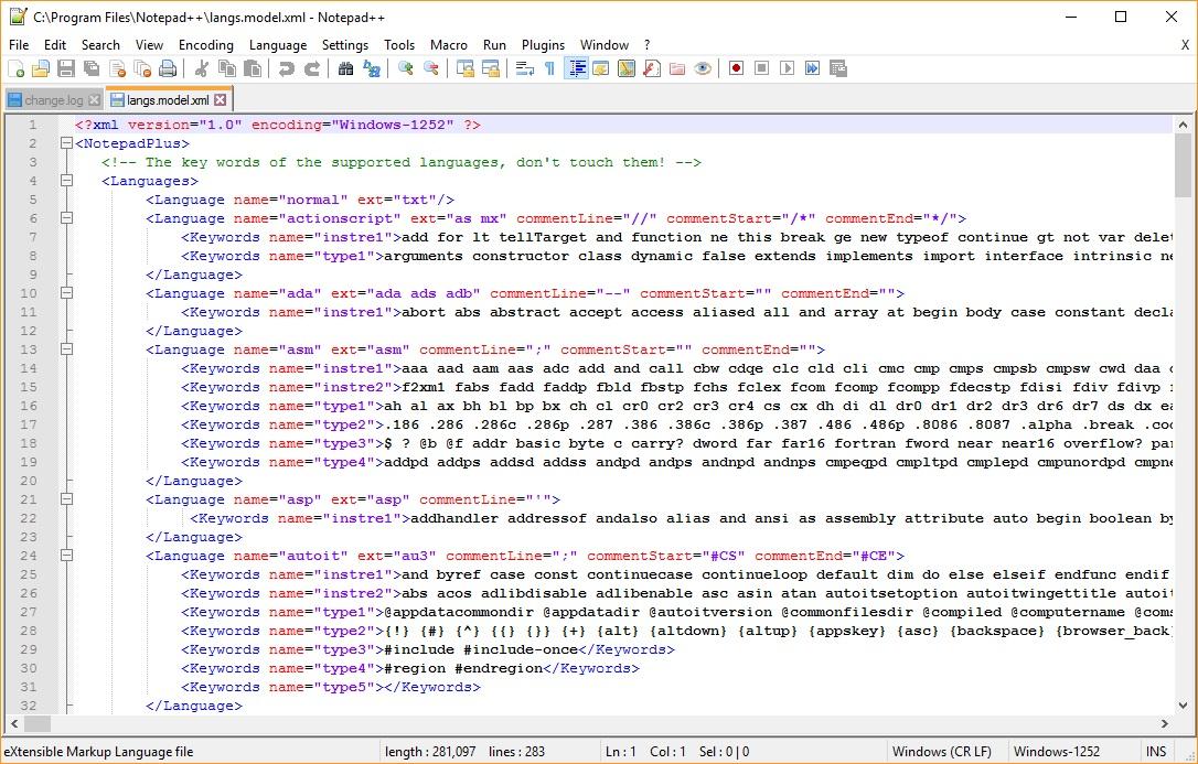 XML Highlight