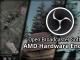 AMD Encoder for OBS Studio