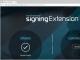 Nextsense Signing Component