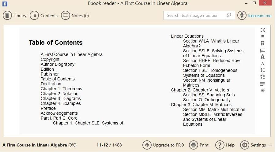 Reading eBook File