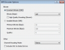 MP3 Encoder Settings