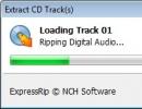 Extract CD Tracks