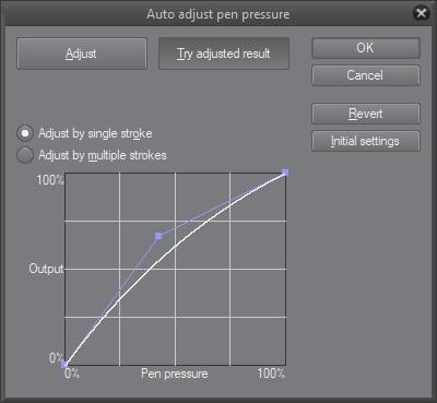 Adjust Pen Pressure
