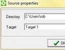 Source properties