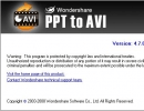 About Wondershare PPT to AVI