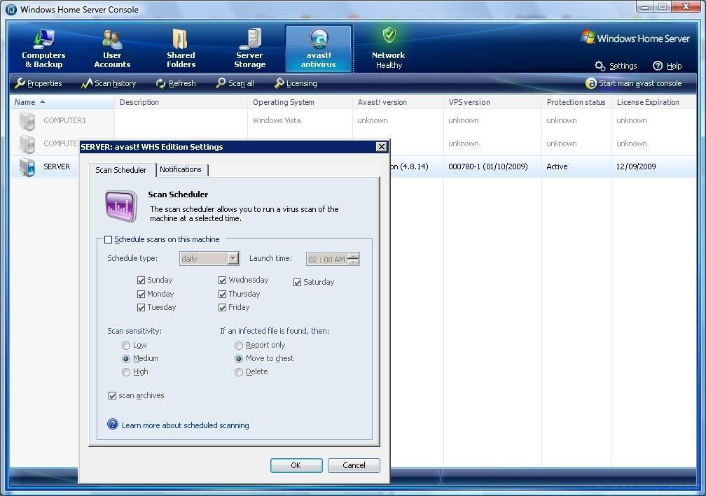 Server Console