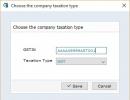 Taxation Type