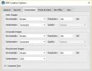 Create PDF Options
