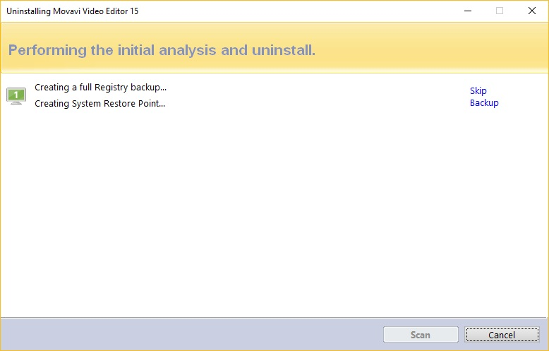 Registry Backup and Restore Point