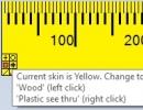 Change Ruler Skin