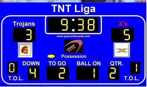 Modified scoreboard