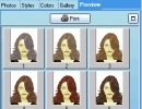 Up to 15 hair style on one preview