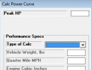Calculate power curve