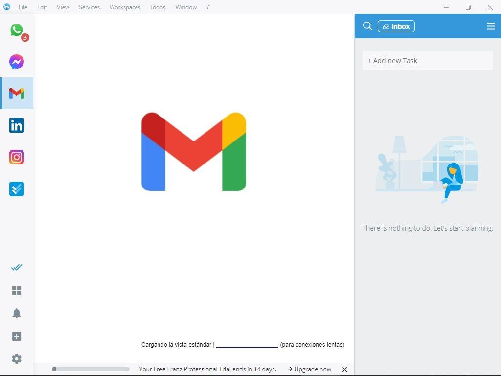 Adding Gmail