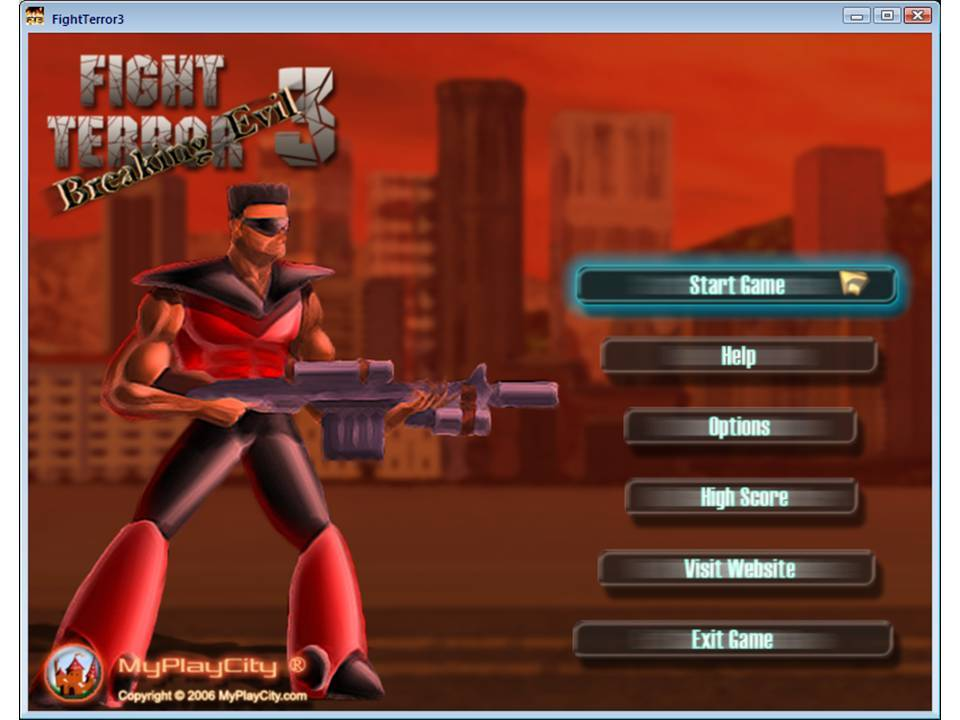 Game Main Screen