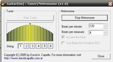 GuitarTM-Metronome