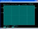 Oscilloscope window.