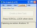 Creating New Task