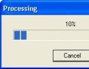 Processing Window
