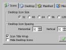 XPize settings