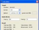 Bit Rate Calculator