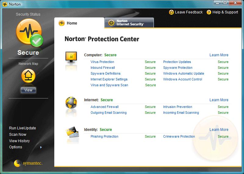 Norton Protection Center