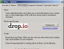 File hosting settings
