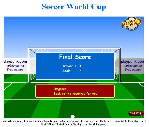 Soccer World Cup-Score