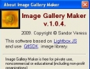 About Image Gallery Maker